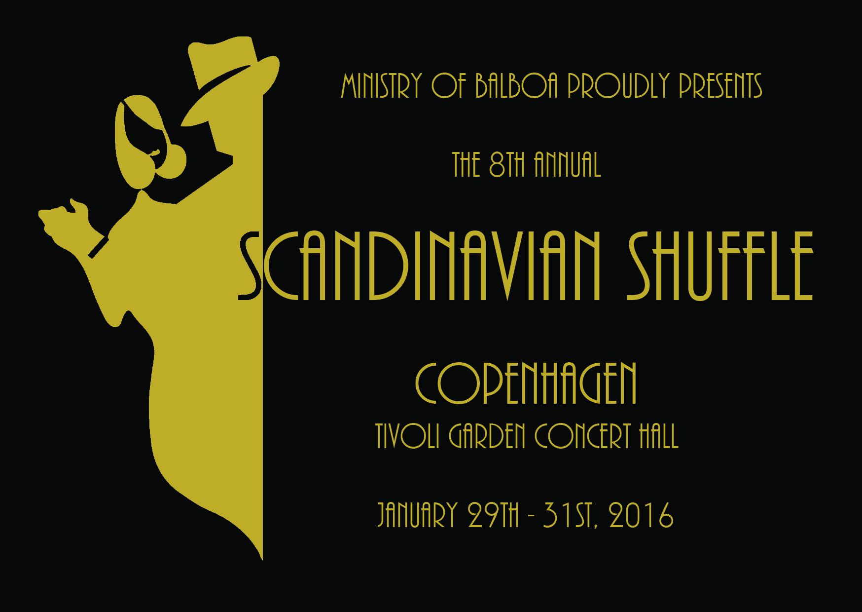 Postkort til Scandinavian Shuffle Original